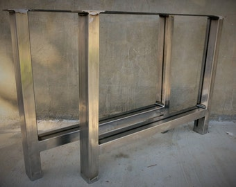 Metal Table Base (set of 2) thick steel