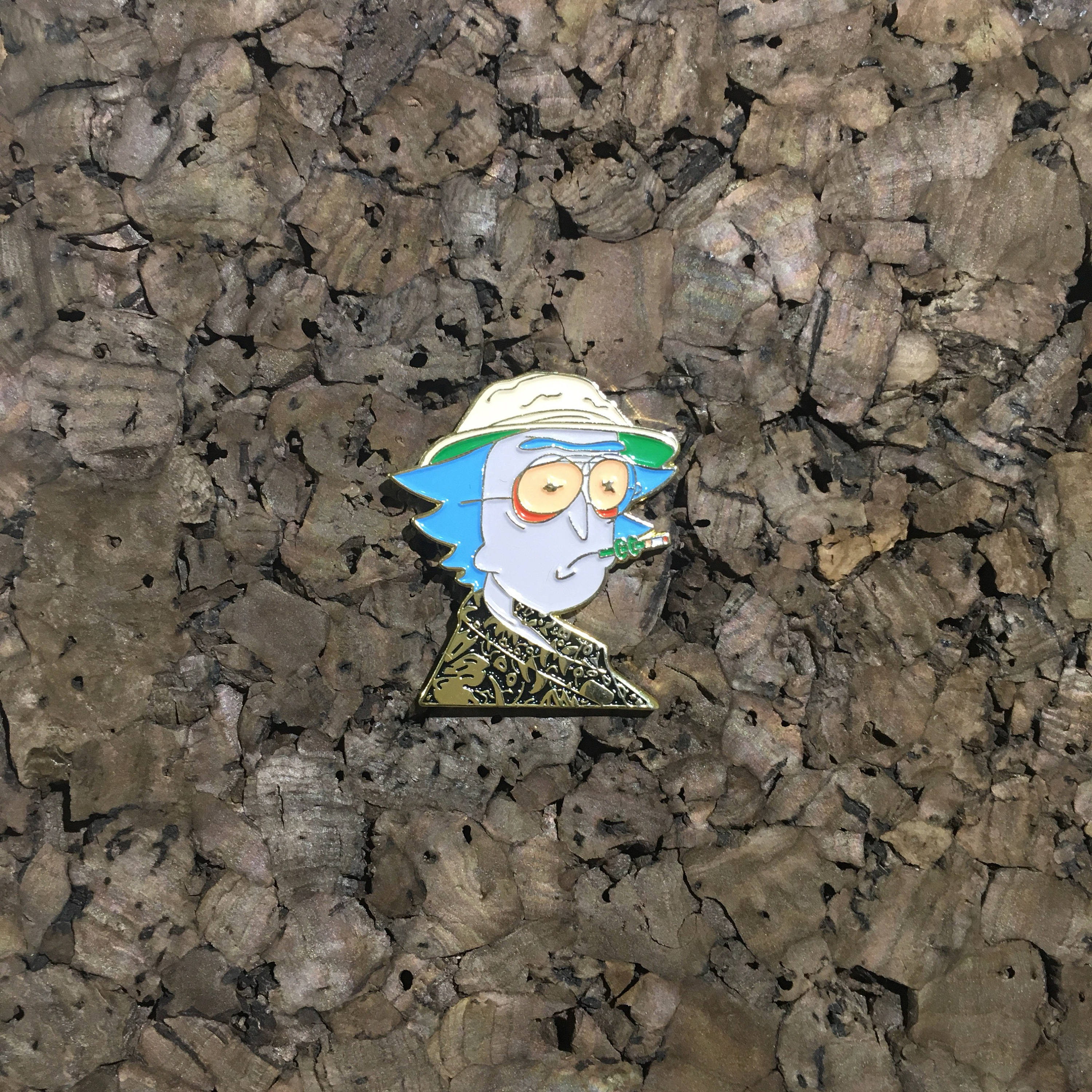 Rick And Morty Hat Pin, Uncle Rick S  Thompson, Fear and