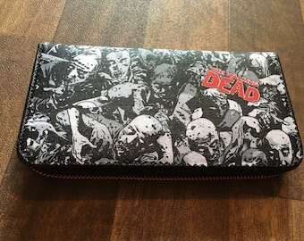 Custom made the walking dead zombie inspired womens/teens purse