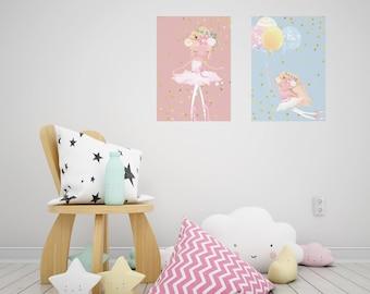 ballerina wallpaper etsy