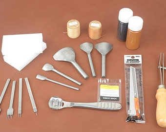Beginner Tools Set for Leather Craft (!!! Free shipping!!!) ,making bag, Leather craft tools MLT-  P0000BPR