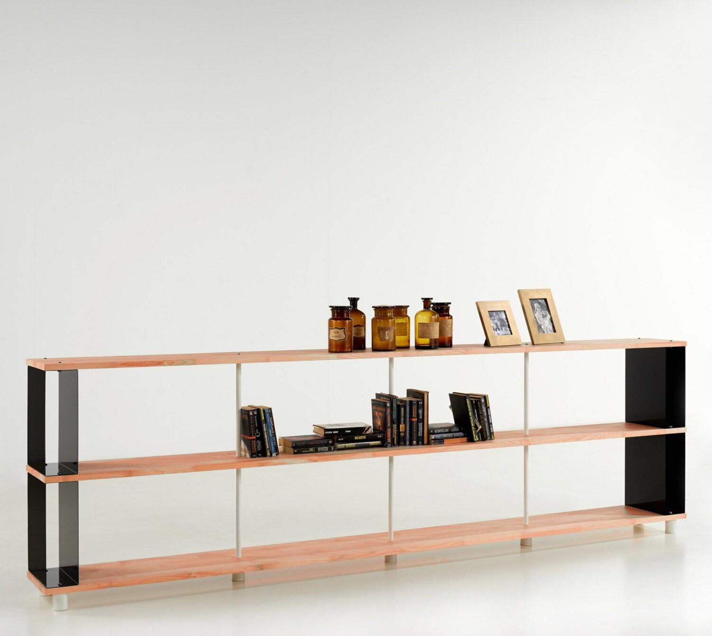 Modular Bookcase Skaffa Wood Solid Wood Bucherregal Massiv Holz Etagere H 90