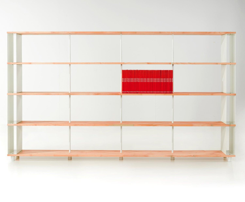 Modular Bookcase Skaffa Legno Solid Wood Bucherregal Massiv Holz Etagere H 171