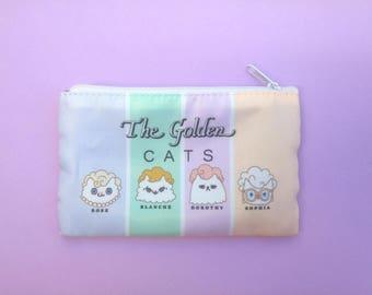 The Golden Girls Bag-Cat Bag-Zipper Pouch-80s TV show-Zipper Pouch-Gift for Cat Person