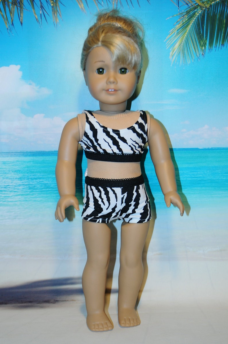 Zebra Print 2-Piece Swimsuit image 0