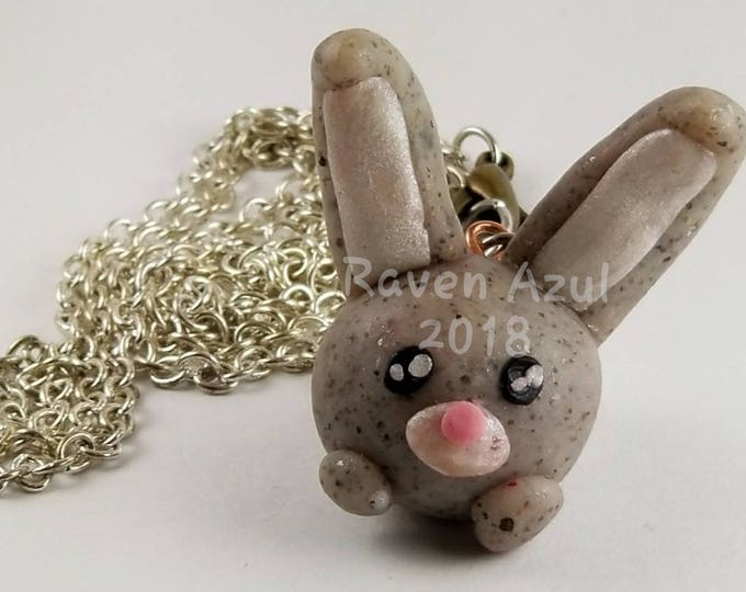Featured listing image: Bunny Charm Necklace
