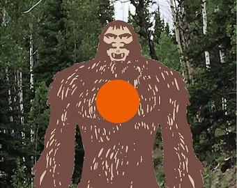 Redding bigfoot archery target, outdoor archery target