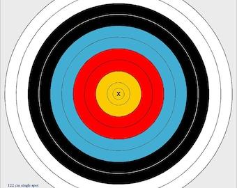 122cm outdoor archery target, vinyl archery target