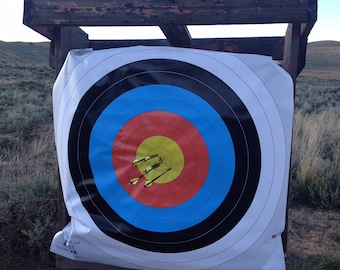 Large outdoor archery target face, banner outdoor targets, Target Face