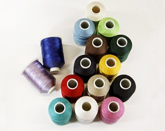 Heavy Bonded Nylon Thread - 31 Colors
