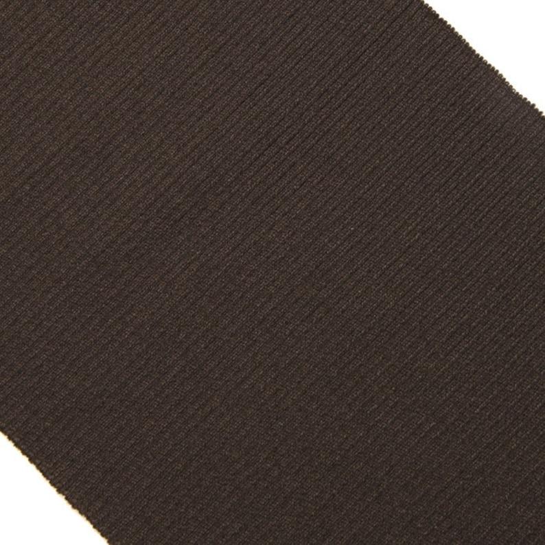 8 Dark Brown Ribbing 45
