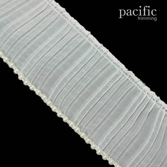 2 14 1-Side Satin Pleat Trim 280098PL