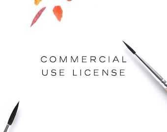 Commercial Use license for Clip Art
