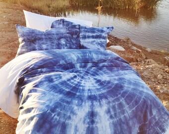Tie dyed duvet set | Etsy