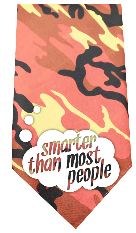 Bandana/'s Camo Print Smarter Than Most People