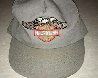 7fc550bbf1e46 Vintage Harley Davidson hat