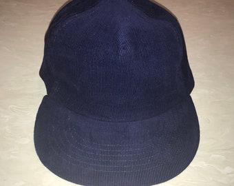 fd9bf14cf0e Vintage corduroy supreme brand snap back hat