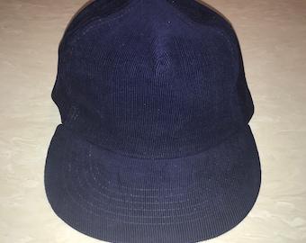 bfc16f8bf2cdb Vintage corduroy supreme brand snap back hat