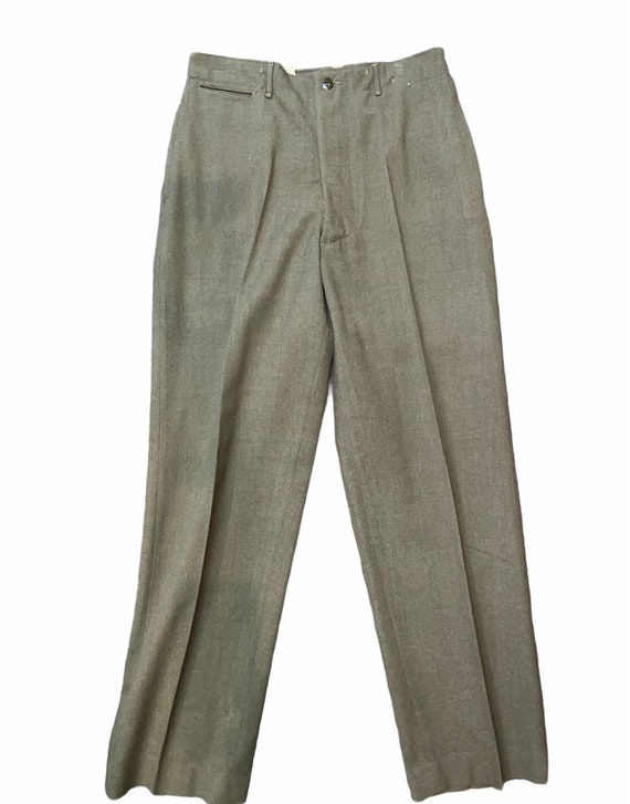 Vintage WWII 40s Wool Military trousers