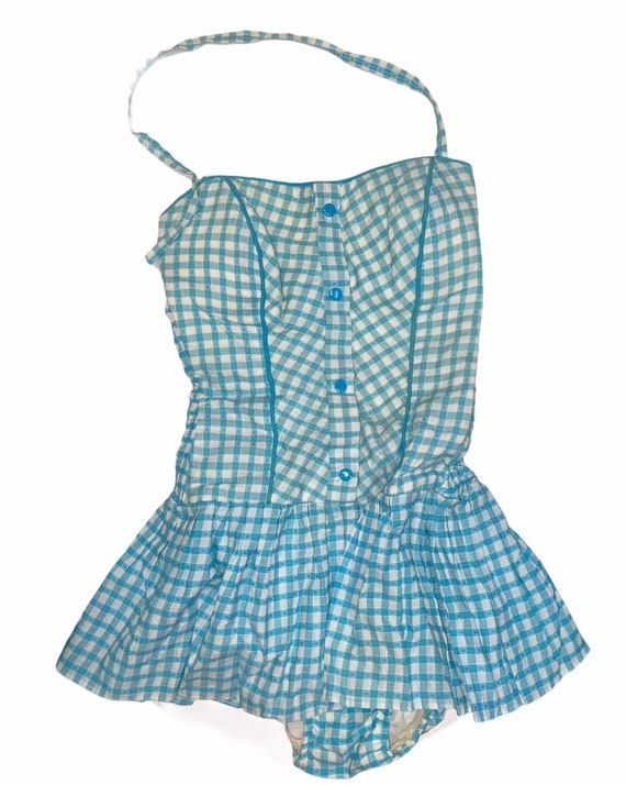 Vintage 50s-60s one piece pin up style rockabilly