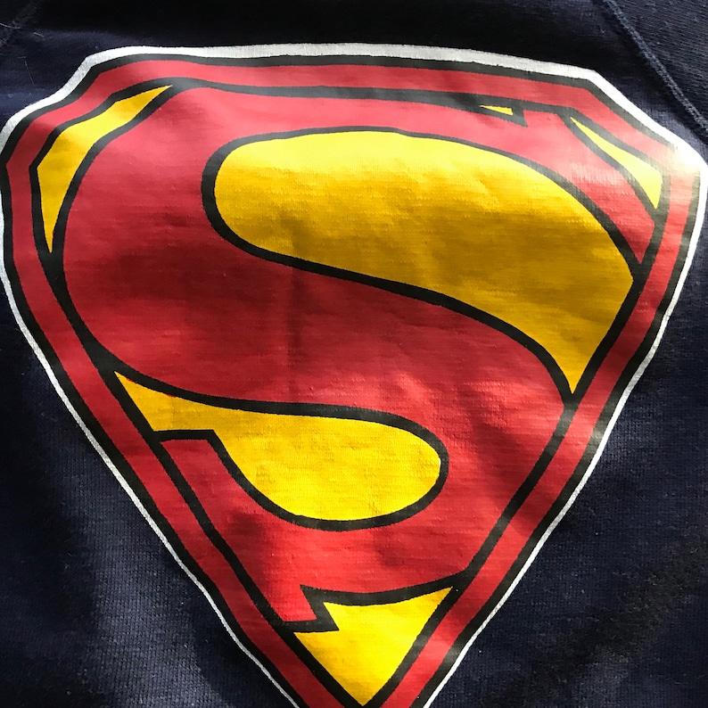 Vintage 70s Maverick Superman crewneck sweatshirt