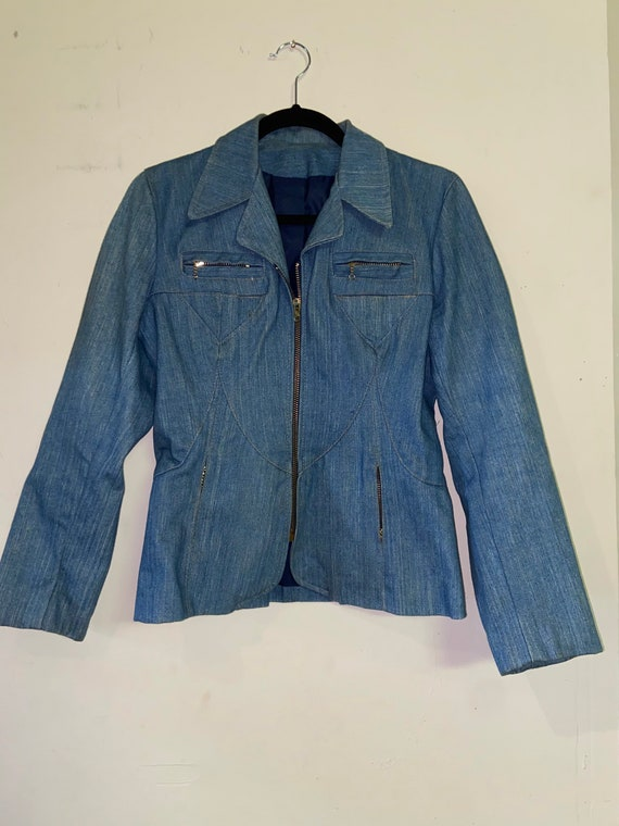 Vintage 50-60s Post time denim jacket