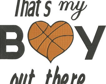 Basketball sport machine embroidery design/ boy/girl
