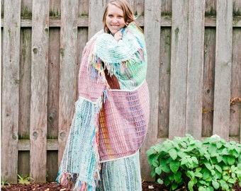 Textile Blanket PATTERN, Knitting Pattern, INSTANT DOWNLOAD