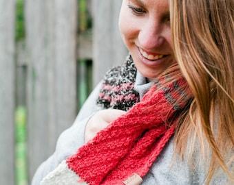Wanderess Cowl knitting PATTERN Digital PDF Download
