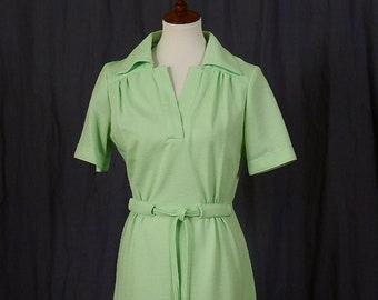 Vintage 1970s Walden Classics Spring Day Dress
