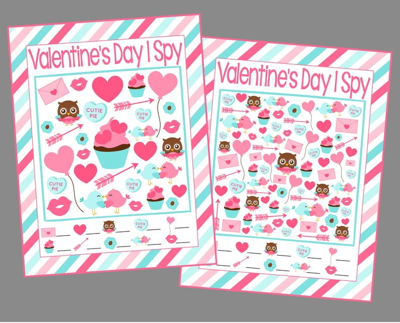 photograph about I Spy Printable named Valentines Working day I Spy Printable Online games. 5 Substitute Sheets A lot easier toward More durable. Instantaneous Electronic Down load. Valentine I Spy.