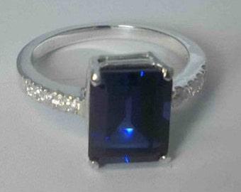 Sterling Silver Birth Stone Ring