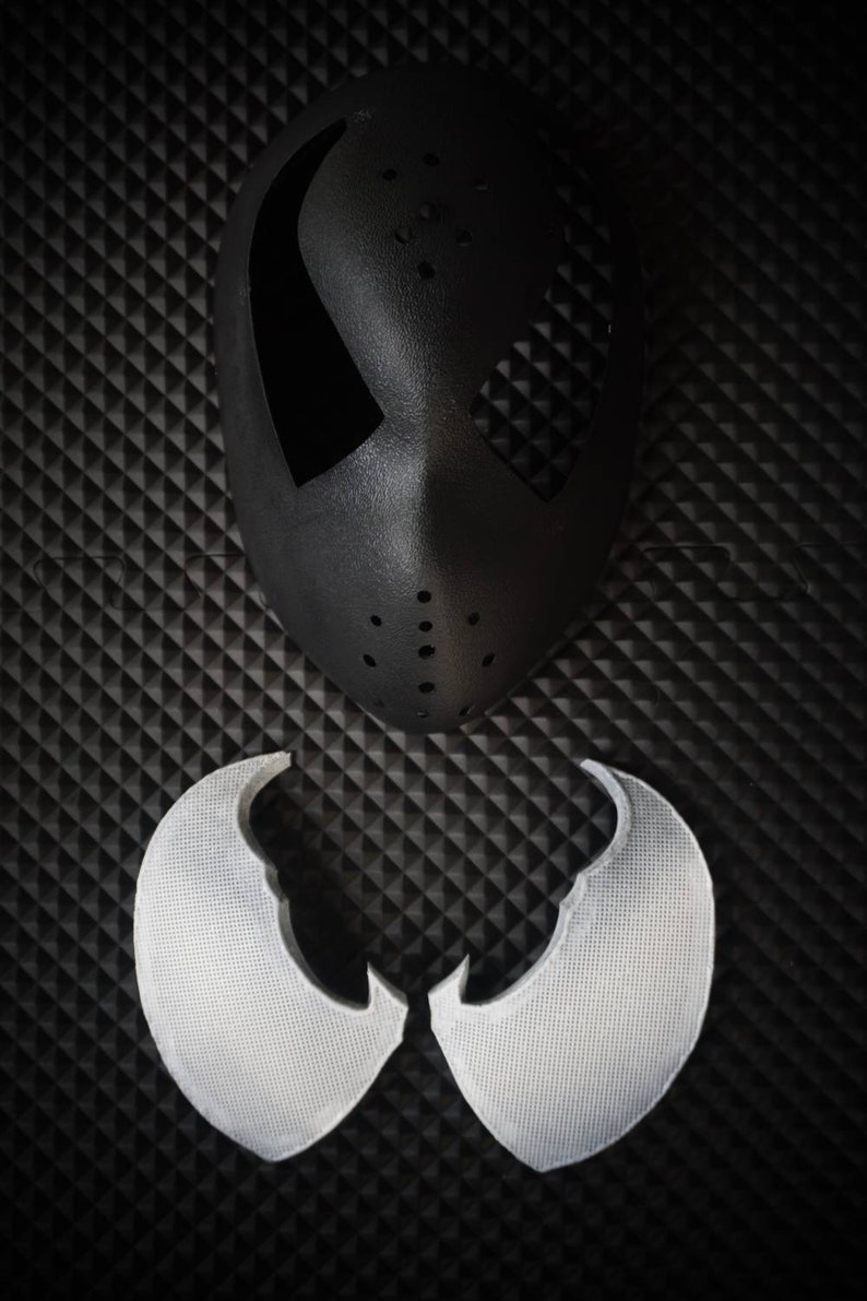 Venom Cosplay Faceshell And Lenses