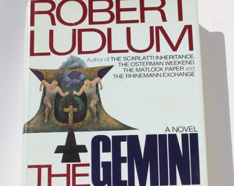 1st Ed. - The Gemini Contenders by Robert Ludlum - The Dial Press 1976 - First Edition
