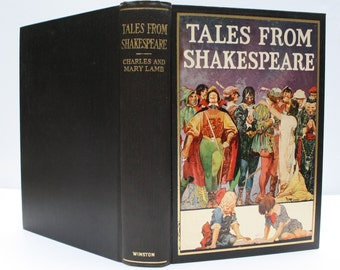 Tales From Shakespeare by Charles and Mary Lamb – John C. Winston Co. 1924