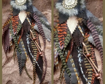 APPLICATION LEATHER FEATHERS