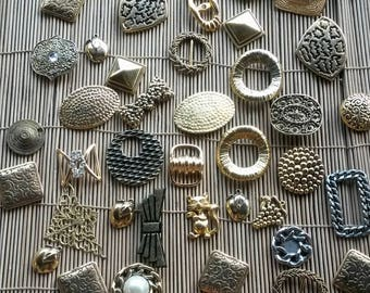 1 purchased = 1 free set of 50 resin and metal jewelry findings