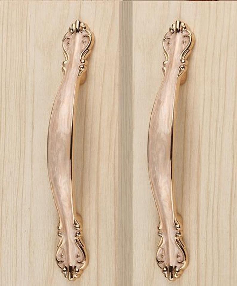 Dresser Knob Drawer Pull Handles Knobs Amber Gold Shabby Chic Kitchen Cabinet Handle Pull Knob Decorative Hardware