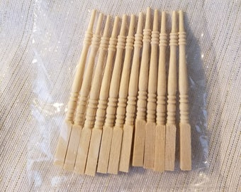 Scale 1/12 Houseworks Miniatures Centurian Balusters Miniature Dollhouse Balusters No 7202