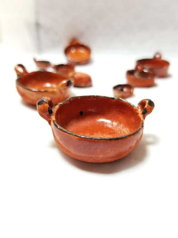Dollhouse Miniature Hand Made Copper Plate 1:12 Mexican Import Kitchen