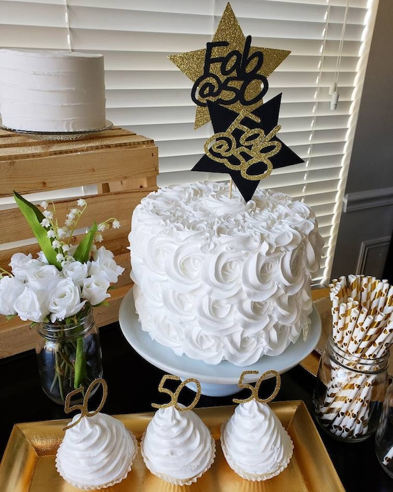 50 And Fabulous 50th Cake Topper Birthday Party