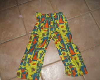 Dinosaur  Flannel PJ Pants Child Size XS (4)