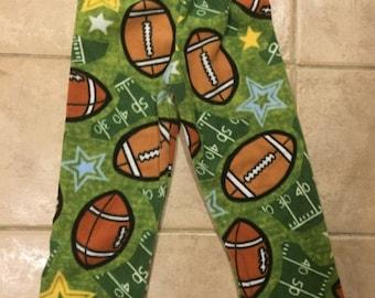 Football  Fleece PJ Pants Sz S (4/5)