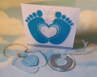 Baby Heart Feet Collection .............. MTC & SVG Digital Download