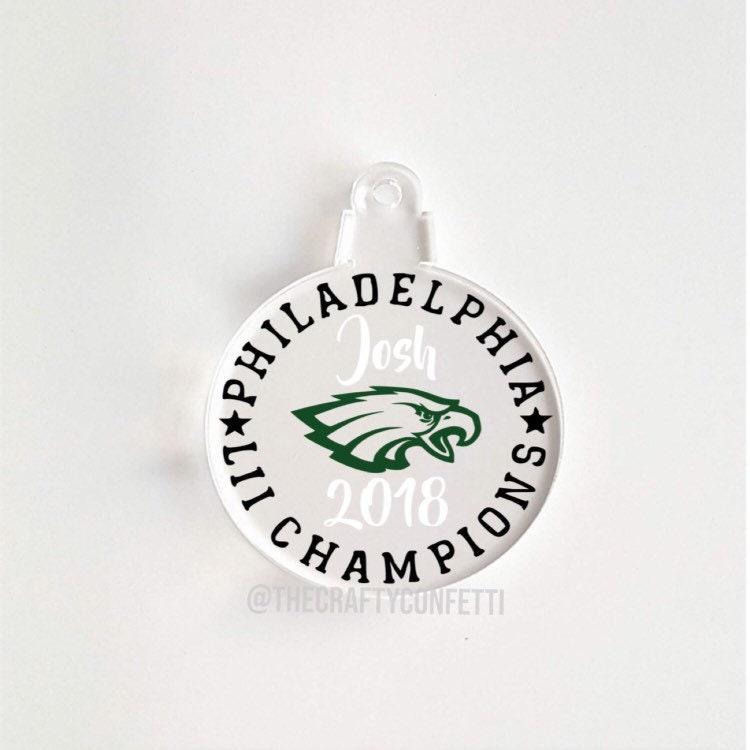 f0fe2426ca6 Personalized Philadelphia Eagles Ornament Football Superbowl