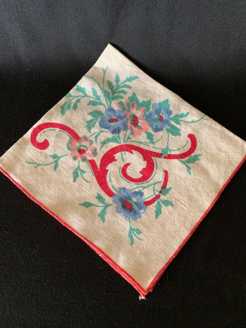 CottonLinen Painted Napkins