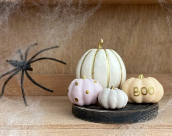 Miniature Pumpkin,  Halloween Food Decor, Blythe Halloween, Halloween Doll House