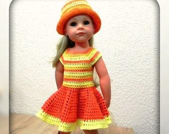 Ebook Strickanleitung Barbie Kleid Stricken Puppenkleid Kleid Etsy