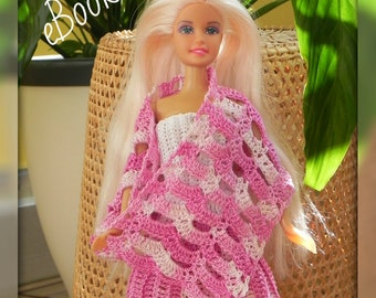 Ebook Strickanleitung Barbie Kleid Stricken Puppenkleid Kleid Etsy