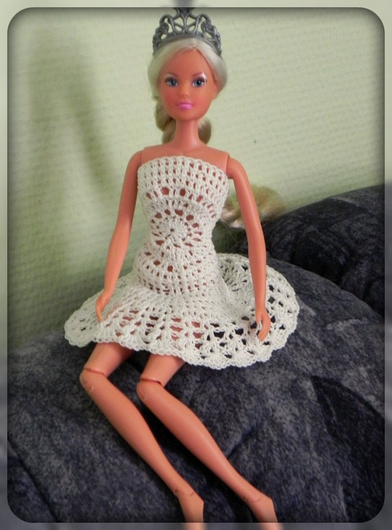 Häkelanleitung Barbie Kleid Mandala Kleid Für Barbie Häkeln